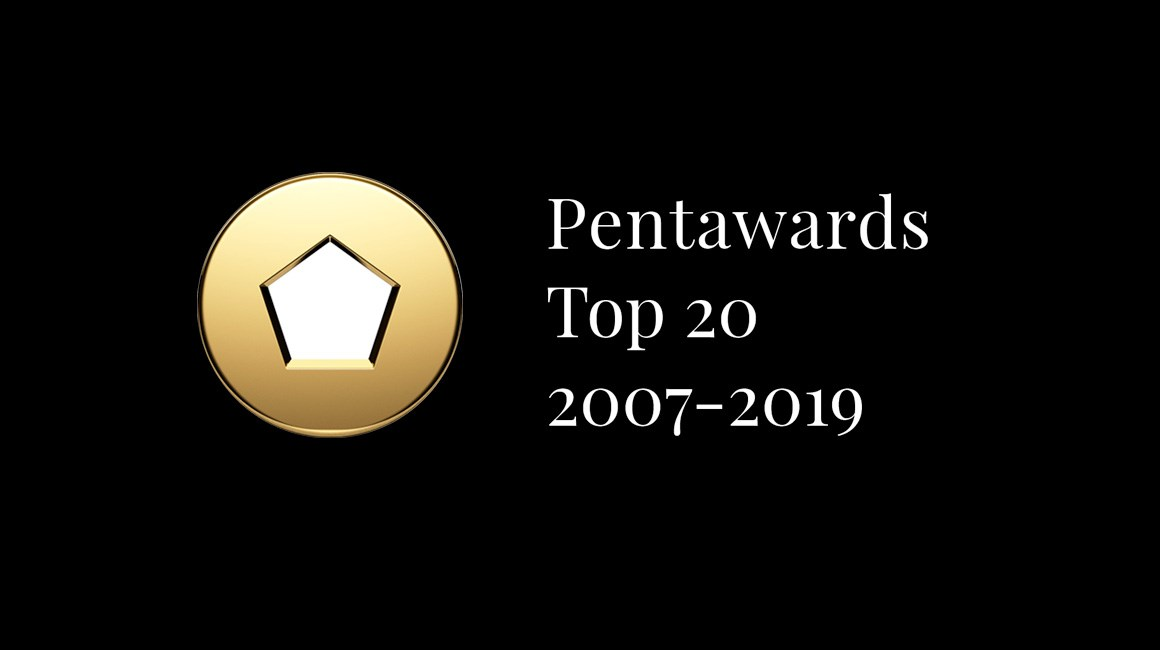 Pentawards Unveils Top 20 All-Time Winners Table